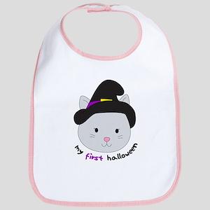 Halloween Kitten - Bib