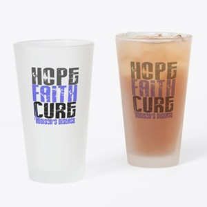 Hope Faith Cure Addison's Drinking Glass