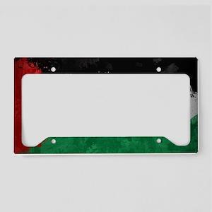 Palestine License Plate Holder