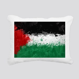 Palestine Rectangular Canvas Pillow