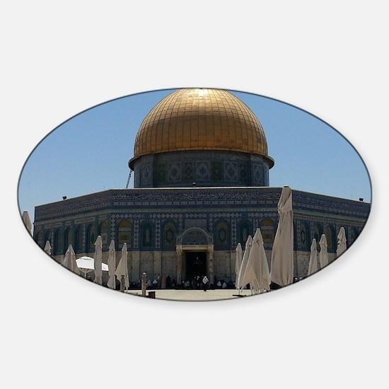 Al-Quds Sticker (Oval)