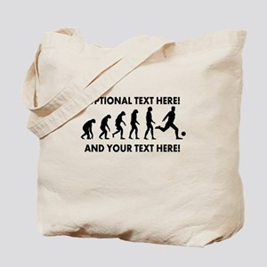 Personalized Soccer Evolution Tote Bag