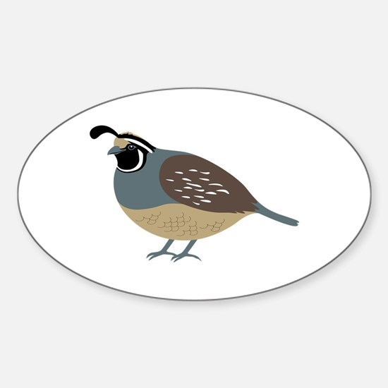 Valley Quail Decal