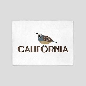 CALIFORNIA 5'x7'Area Rug