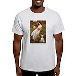 Windflowers Bull Terrier Light T-Shirt
