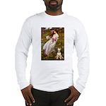 Windflowers Bull Terrier Long Sleeve T-Shirt