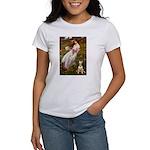 Windflowers Bull Terrier Women's T-Shirt
