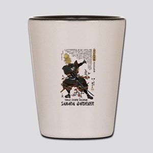Samarai Garden Warrior Shot Glass