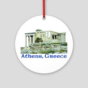 Athens, Greece (Acropolis) Ornament (Round)