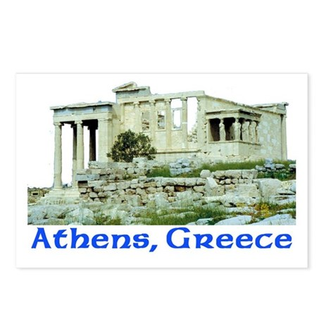 Athens, Greece (Acropolis) Postcards (Package of 8
