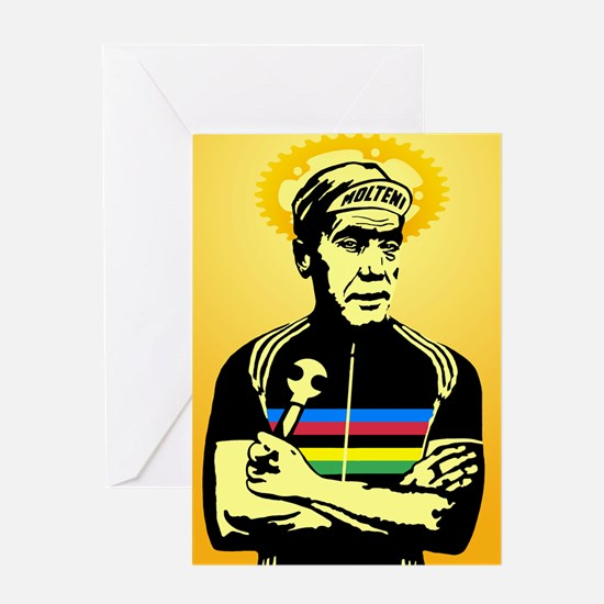 Saint Merckx Greeting Cards