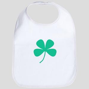 Green Irish Pride Shamrock Rocker Bib