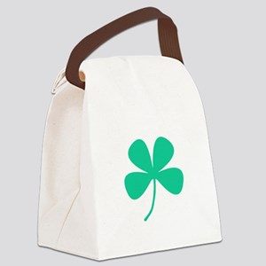 Green Irish Pride Shamrock Rocker Canvas Lunch Bag