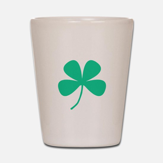 Green Irish Pride Shamrock Rocker Shot Glass