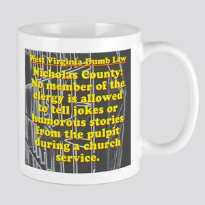 West Virginia Dumb Law 006 Mugs