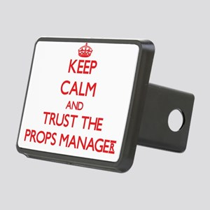 Keep Calm and Trust the Props Manager Hitch Cover