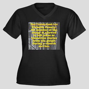 West Virginia Dumb Law 006 Plus Size T-Shirt