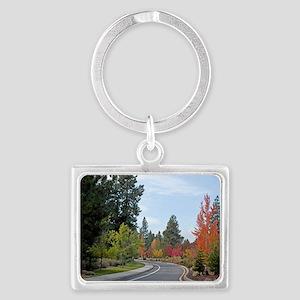 Nature Road Landscape Keychain