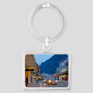 City Street Landscape Keychain