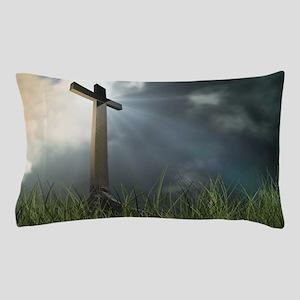 Cross In Field Pillow Case