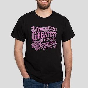 World's Greatest Grandma Dark T-Shirt
