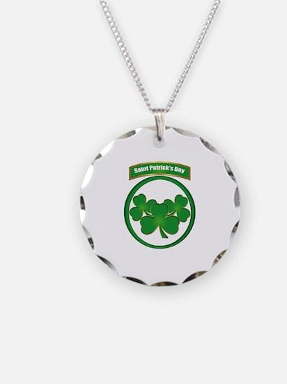 Saint Patrick's Day No text Necklace