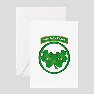 Saint Patrick's Day No text Greeting Card
