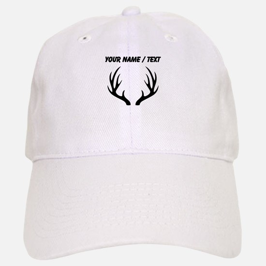Custom 12 Point Deer Antlers Baseball Baseball Baseball Cap