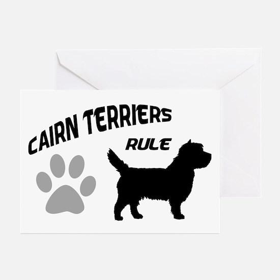 Cairn Terriers Rule Greeting Cards (Pk of 10)