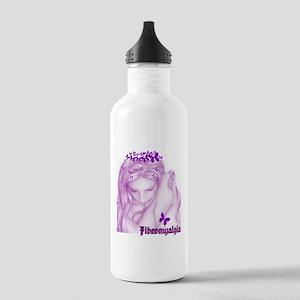 FIBROMYALGIA GIRL Water Bottle