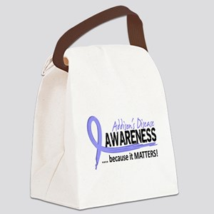 Awareness 2 Addison's Canvas Lunch Bag