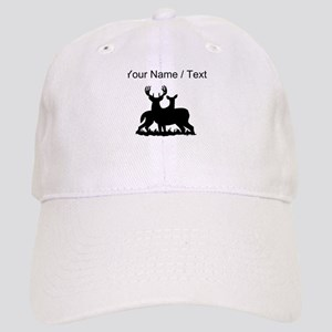 Custom Buck And Doe Baseball Cap