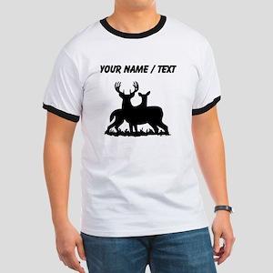 Custom Buck And Doe T-Shirt