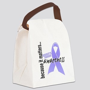 Awareness 1 Addison's Canvas Lunch Bag