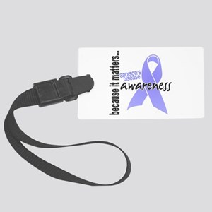 Awareness 1 Addison's Large Luggage Tag