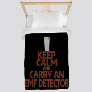 Keep Calm Carry EMF Twin Duvet