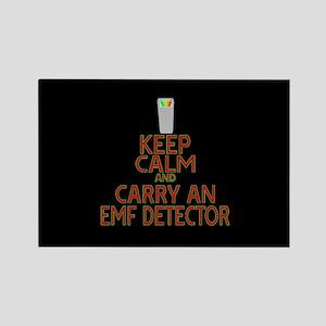 Keep Calm Carry EMF Rectangle Magnet