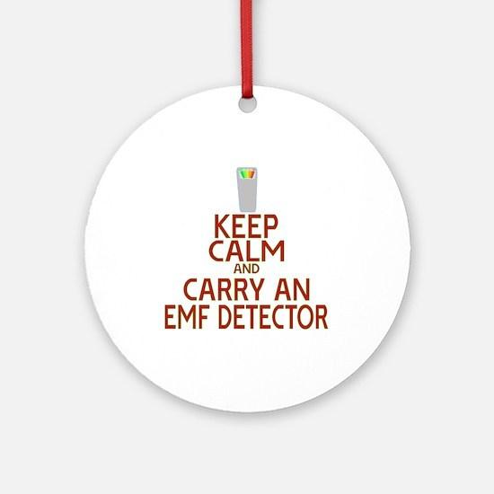 Keep Calm Carry EMF Ornament (Round)