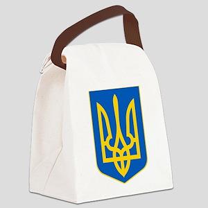 Ukrainian Coat of Arms Canvas Lunch Bag