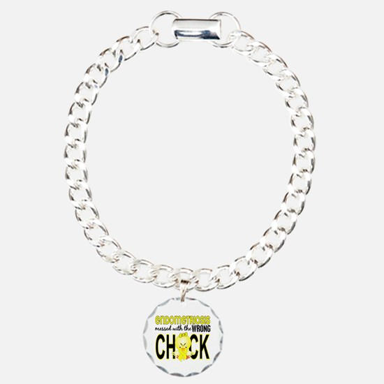 Messed With Wrong Chick Bracelet