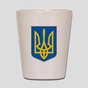 Ukrainian Coat of Arms Shot Glass