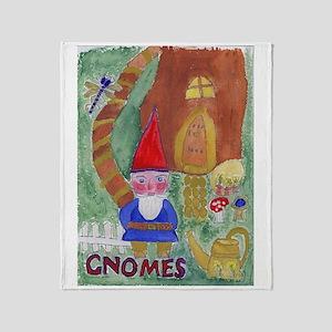 Gnomes Throw Blanket