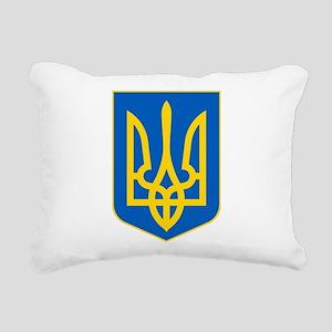 Ukrainian Coat of Arms Rectangular Canvas Pillow