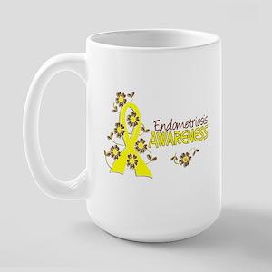Awareness 6 Endometriosis Large Mug