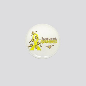 Awareness 6 Endometriosis Mini Button