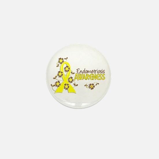 Awareness 6 Endometriosis Mini Button