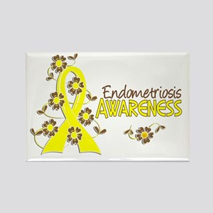Awareness 6 Endometriosis Rectangle Magnet