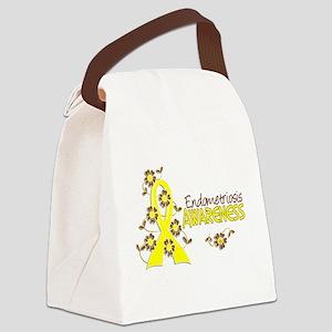 Awareness 6 Endometriosis Canvas Lunch Bag