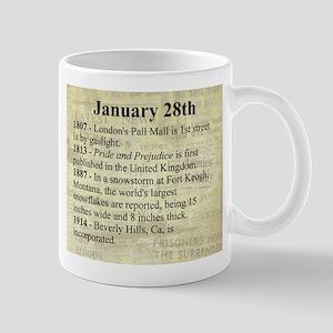 January 28th Mugs