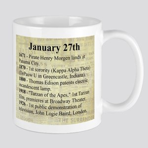 January 27th Mugs